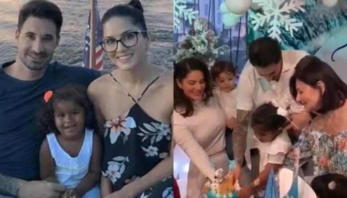 Sunny Leone Hosts A Frozen Themed Bash For Her Daughter, Nisha's 4th Birthday