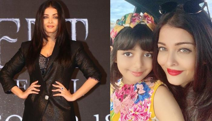 Aaradhya Bachchan's Reaction To The News Of Mom, Aishwarya's Dubbing For 'Maleficient' Is Priceless