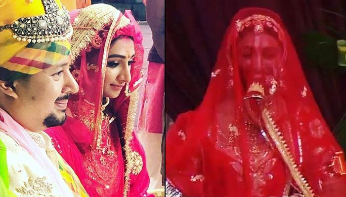 Mohena Kumari Singh's First Post-Wedding Look, The Newly-Married Bride Looks Resplendent In Sindoor