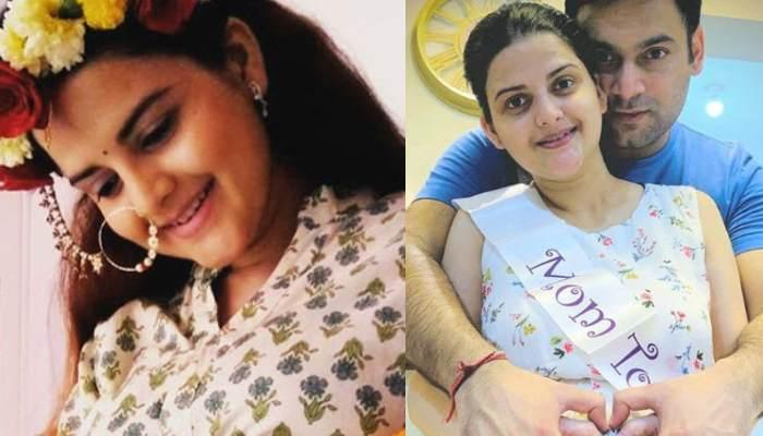 'Chidiya Ghar' Star Trishika Tripathi Shares The First Glimpse Of Her Baby Boy, Aahish Tripathi