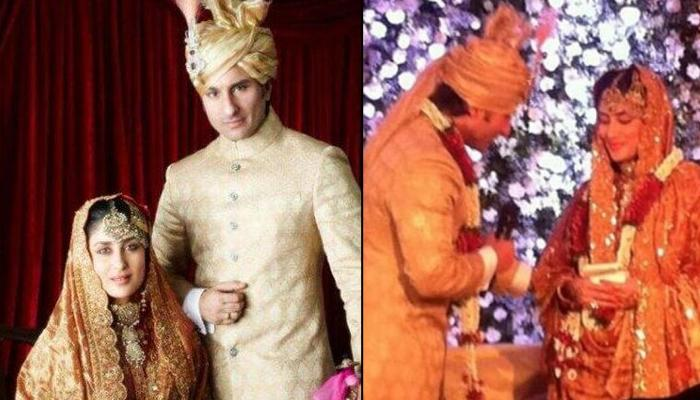Unseen Picture Of Saif Ali Khan And Kareena Kapoor From Their Royal Wedding To Mark 7th Anniversary