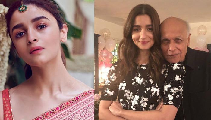Alia Bhatt Recalls An Emotional Moment With Dad Mahesh Bhatt From The Sets Of 'Sadak 2'