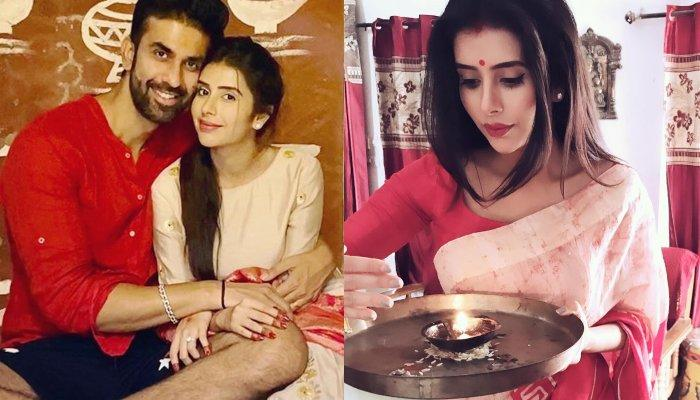 Charu Asopa And Rajeev Sen Wish Each Other On Their First Karwa Chauth With Dreamy Pictures