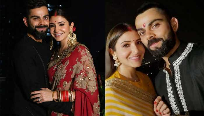 Anushka Sharma And Virat Kohli Celebrate Their Second Karwa Chauth By Fasting For Each Other