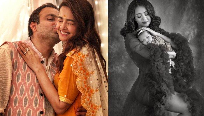 Surveen Chawla And Hubby, Akshay Celebrate Daughter's 6-Month Birthday, First Family Picture Out