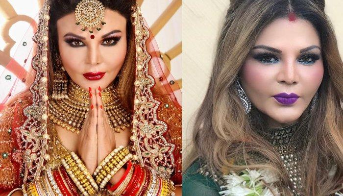 Rakhi Sawant Forgets To Eat Sargi At Her First Karwa Chauth Post Wedding, Her Hubby Is Fasting