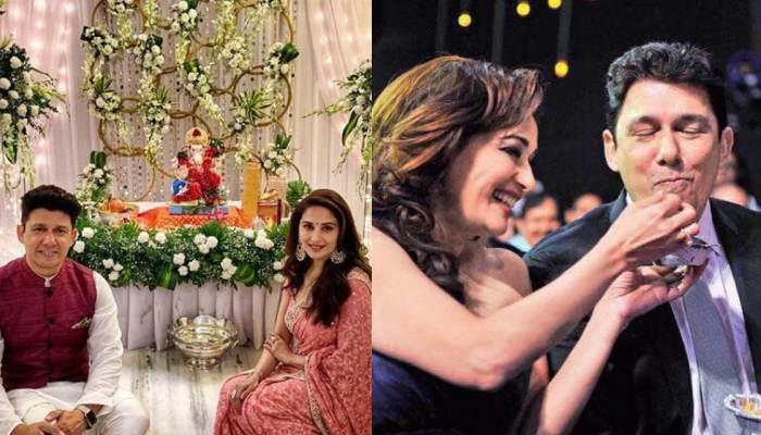 Madhuri Dixit Celebrates 20th Wedding Anniversary On Karwa Chauth, Hubby Sriram Nene Shares Pics