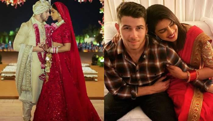 Nick Jonas Posts A Heartfelt Note For Wife Priyanka Chopra On Her First Karwa Chauth, Shares Pics