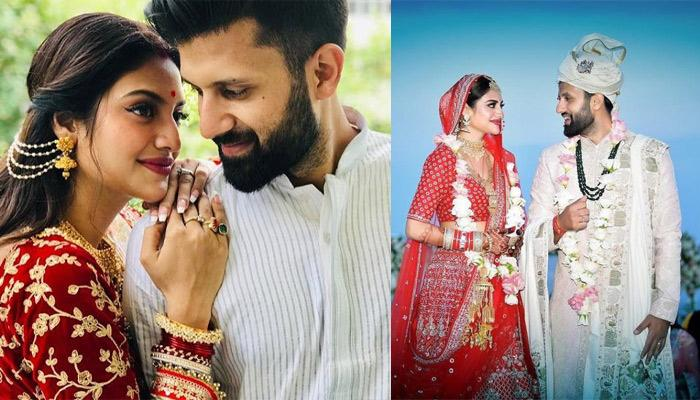 Nusrat Jahan Celebrates Her First Karwa Chauth With Husband, Nikhil Jain And Looks Deeply In Love