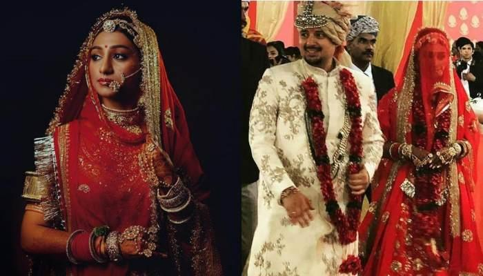 Mohena Kumari Flaunts Her Exclusive Mangalsutra Which Accentuated Her Royal Wedding Look
