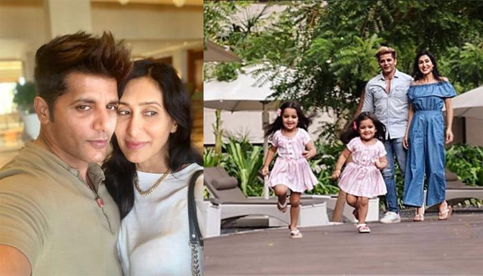 Karanvir Bohra And Teejay Sidhu Seek Blessings At Golden Temple On Their Twin Daughter's Birthday