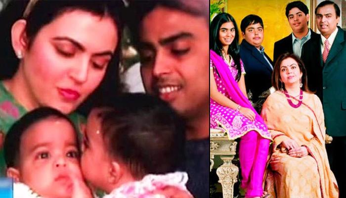 Unseen Childhood Pictures Of Isha Ambani, Akash Ambani And Anant Ambani Reflects Their Loving Bond