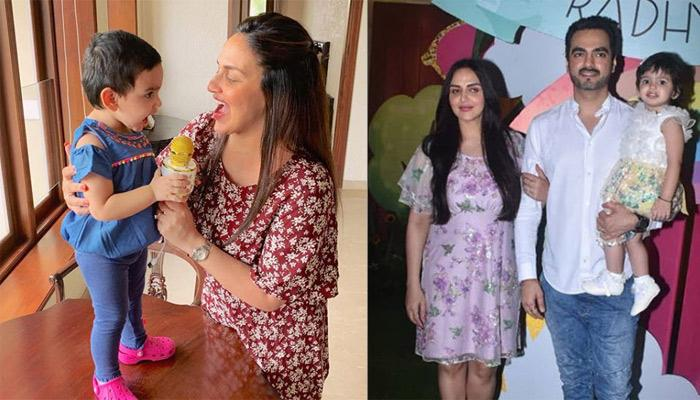 Esha Deol Shares First Picture Of Miraya Takhtani Twinning With Sister Radhya On Her Birthday Party