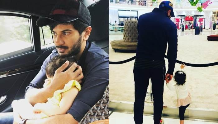 Daddy Dulquer Salman And Daughter Maryam Strike An Adorable Twinning Pose