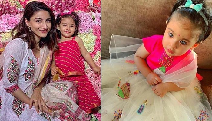 Inaaya Naumi Kemmu Looks Graceful For Pre-Diwali Celebrations, Soha Ali Khan Pens Important Message