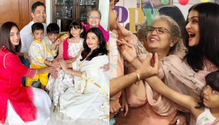 Aishwarya Rai Bachchan, Aaradhya Have A Blast At Her Nephew's Fun-Filled Birthday Bash [Pictures]