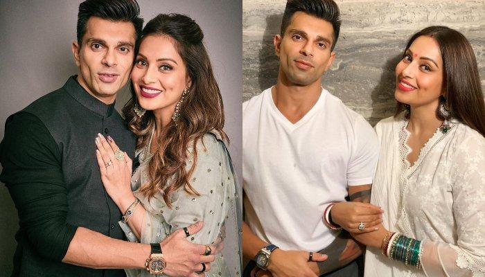 Is Bipasha Basu Pregnant? Fans Speculate As She And Hubby, Karan Singh Grover Pose For Diwali Party