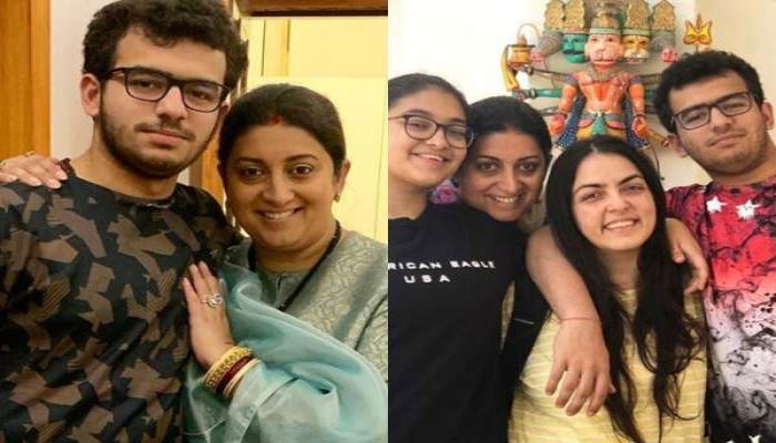 Smriti Irani's Heartfelt Wish For Her Son, Zohr On His 18th Birthday Is Completely Adorable