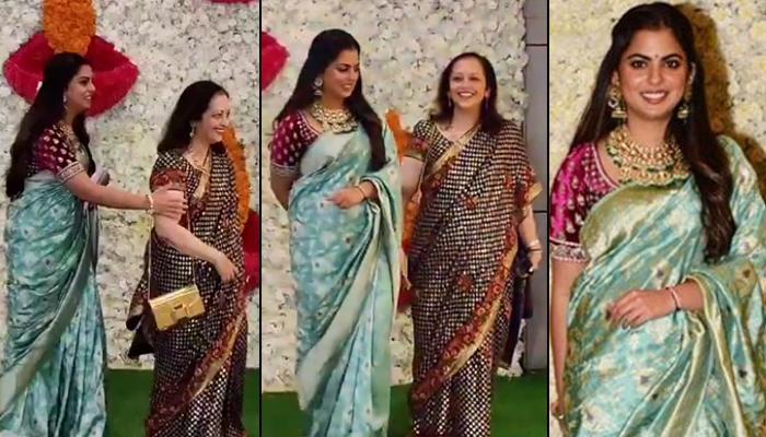 Isha Ambani Piramal Bonds With Her Mother-In-Law, Swati Piramal At Diwali Bash Hosted By Mukesh-Nita