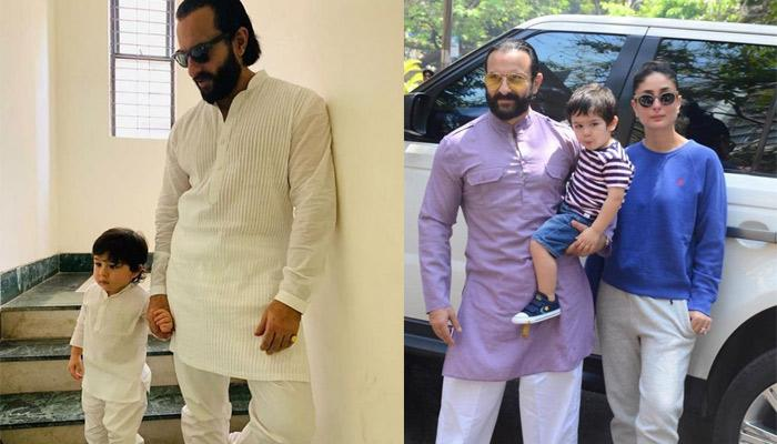 Saif Ali Khan Rubbished The Speculations About Sending Son, Taimur Ali Khan To Boarding School