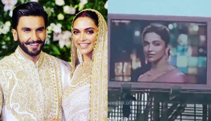 Ranveer Singh Had A Fanboy Moment When He Spotted Wife, Deepika Padukone In A Poster [Video]