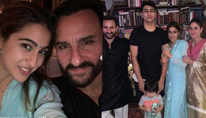 Taimur Ali Khan Celebrates Diwali With Parents And Half Siblings, Sara Ali Khan And Ibrahim Khan
