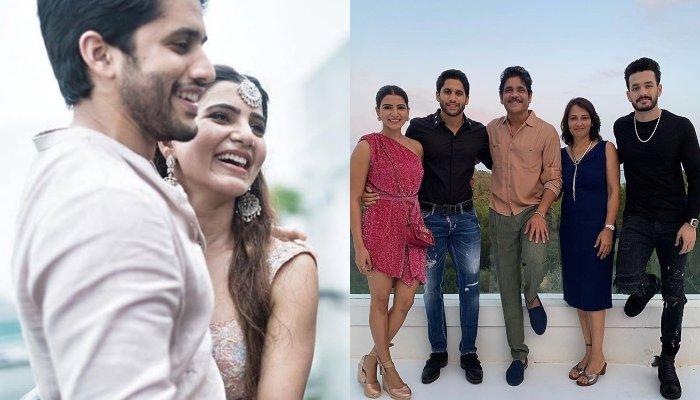 Samantha Akkineni's Diwali Wish For Fans Is Adorable, Posts A Beautiful Family Picture With In-Laws