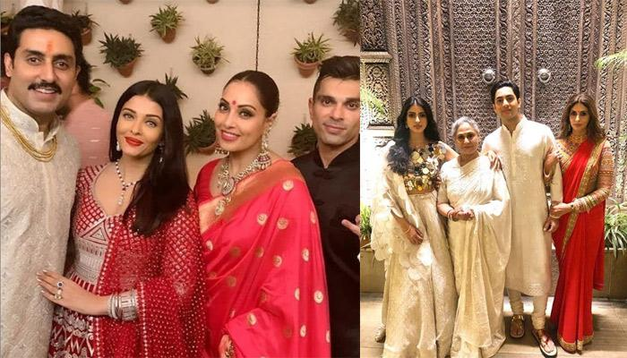 Inside Bachchan's Grand Diwali Party, Aishwarya Rai  And Abhishek Bachchan Were The Perfect Hosts