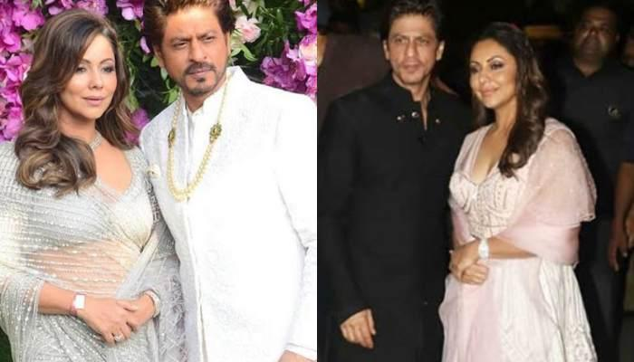 Shah Rukh Khan Posts Adorable Diwali Picture With Wife, Gauri And Son AbRam