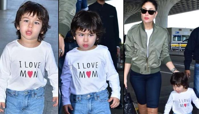 Kareena Kapoor Khan And Taimur Ali Khan Twin In Boots, Setting The Mother-Son Style Quotient High