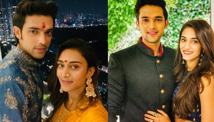 Parth Samthaan And Erica Fernandes Celebrate Diwali After Breakup Rumours, Look Great Together