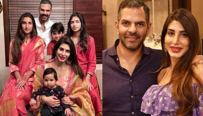 Priya Sachdev Kapur Celebrates First Diwali With Azarias, Step-Children And Daughter's Bond Is Great