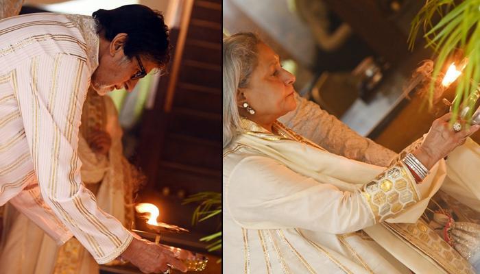 Amitabh Bachchan Posts Unseen Diwali Pictures Of Jaya, Abhishek, Aishwarya, Aaradhya Performing Puja