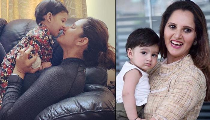 Sania Mirza Shares A 'Just-Born' Smiling Picture Of Izhaan Mirza Malik On His First Birthday