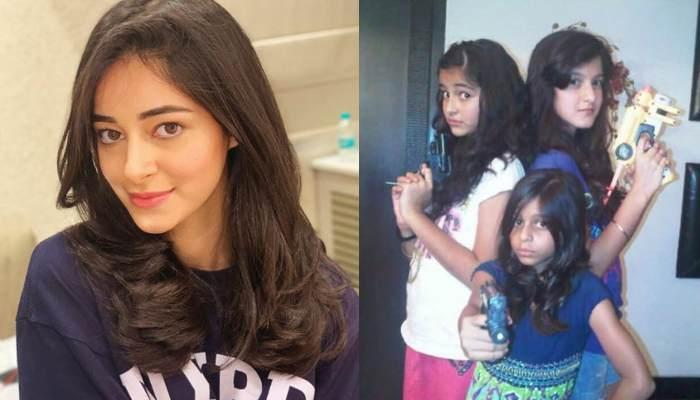 Ananya Panday And Suhana Khan's Childhood Pic Is Adorable, Will Remind You Of Your Chaddi Buddy
