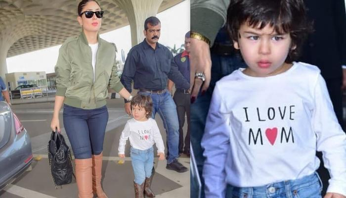 Taimur Ali Khan Wears A T-Shirt Worth Rs 400 But His Cowboy Shoes Are Way Costlier Than His Outfit