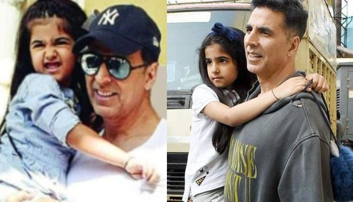 Akshay Kumar Goes Out For A Walk With His Daughter, Nitara, But The Duo Gets A Valuable Life Lesson
