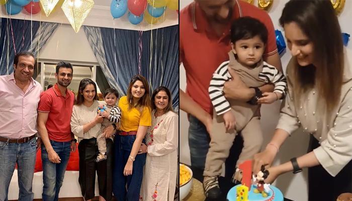 Sania Mirza And Shoaib Malik Host Their Son, Izhaan Mirza Malik's First Birthday Bash In Dubai