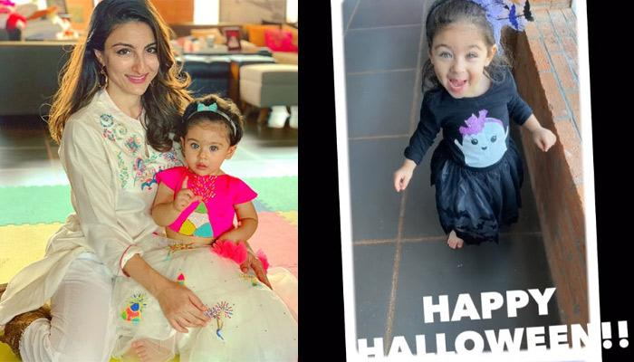 Inaaya Naumi Kemmu Dressed Up As A Friendly Neighborhood Witch For Halloween Is Too Cute To Handle
