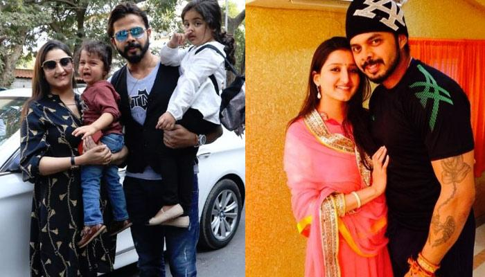 Sreesanth Steps Out For Fun Evening With Wife Bhuvneshwari And Kids Sanvika And Suryasree [VIDEO]