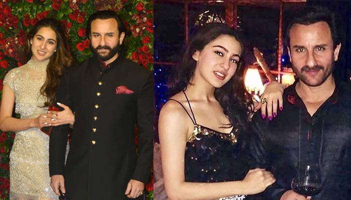 Unseen Childhood Pic Of Sara Ali Khan Wrapped In Abba, Saif's Arms Tells That She Is A Daddy's Girl