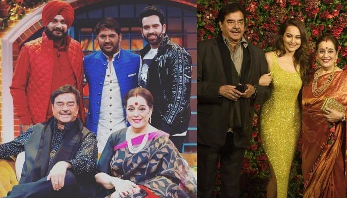 Shatrughan Sinha And Poonam Sinha Share Their Filmy Love Story With Kapil Sharma On His Show