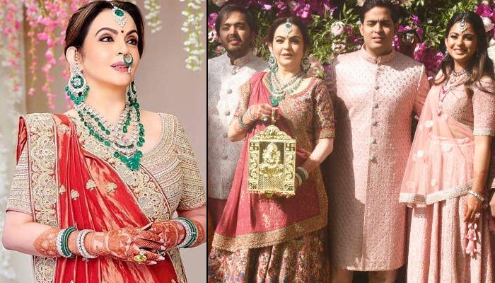 Nita Ambani's Perfect Traditional Looks For The Mother Of A Bride Or Groom To Take Inspiration From
