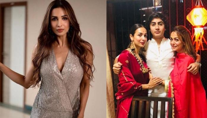 Malaika Arora Posts A Picture Of Son, Arhaan Khan Taking Care Of His Mommy