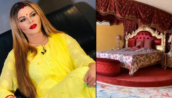 Rakhi Sawant Gives A Glimpse Of Her Luxurious Home In The UK, Netizens Call It 'Hotel Ka Room'