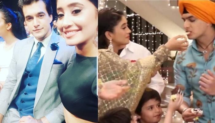 Mohsin Khan And GF, Shivangi Joshi Dance Their Heart Out At His Birthday Bash With YRKKH Team