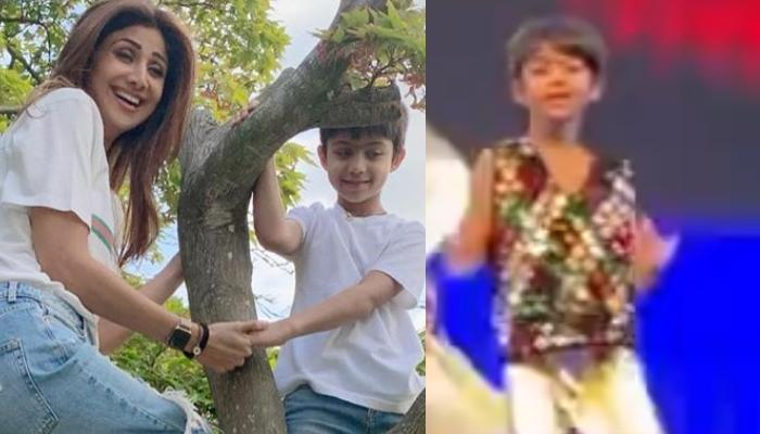 Shilpa Shetty Kundra Is A Proud Mother As Her Son, Viaan Aces Cartwheel In His School Performance