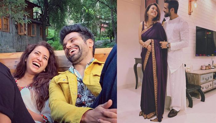 Asha Negi Celebrates Beau, Rithvik Dhanjani's Birthday In A Special Way, Bakes Cake For Him