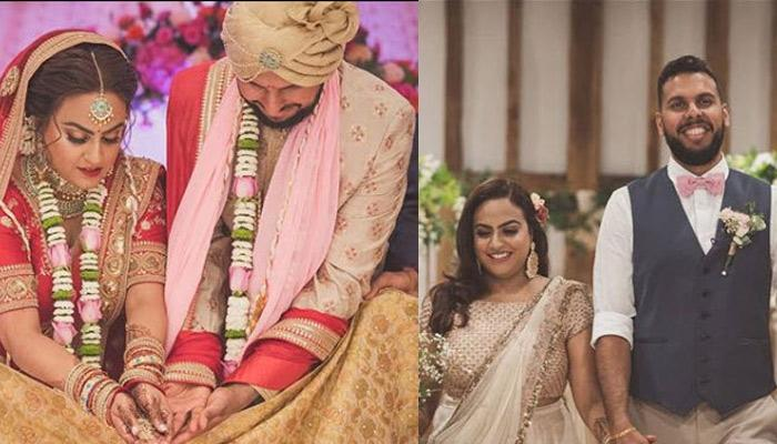 This Curvy Bride Wore A Stunning Red Sabyasachi Polka-Dotted Lehenga For Her Day Wedding