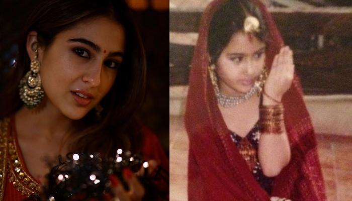Sara Ali Khan Gets Nostalgic, Shares Childhood Pictures That Prove She Was Always A Star